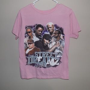 Women's 2007 Street Dreamz Rap Concert T-Shirt